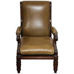 William IV Rosewood Library Chair