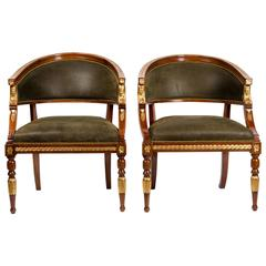 Pair of Malmo Tub Chairs