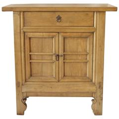 Qing Dynasty Turn of the Century Walnut Cabinet