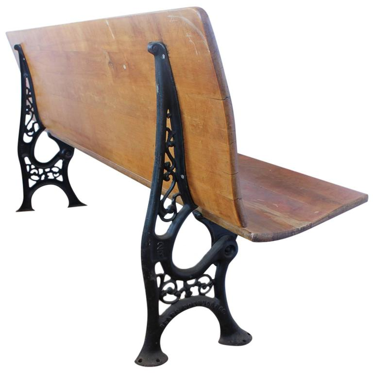 Antique American School Bench, More Available