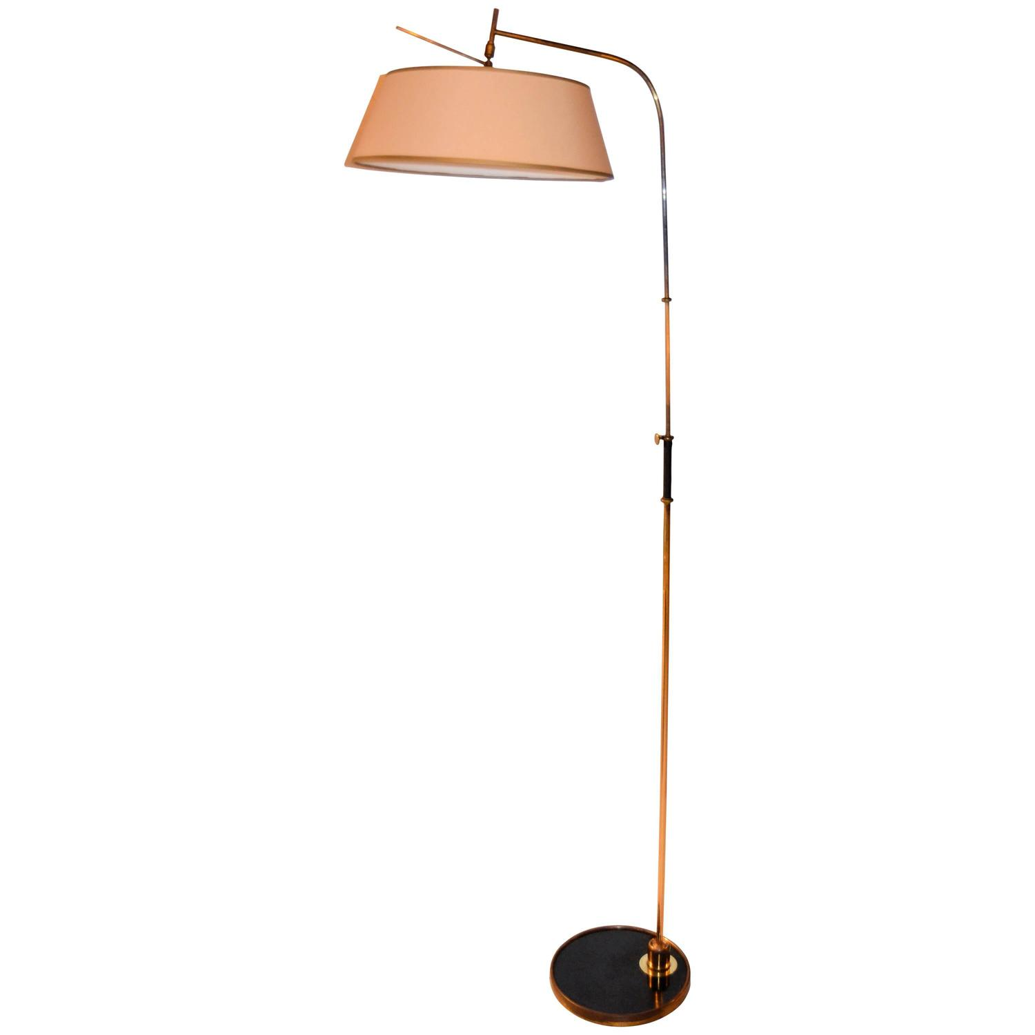 Lunel french floor lamp 1950s at 1stdibs for 1950s floor lamps