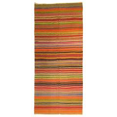 Turkish Kilim Gallery Size Flat-Weave