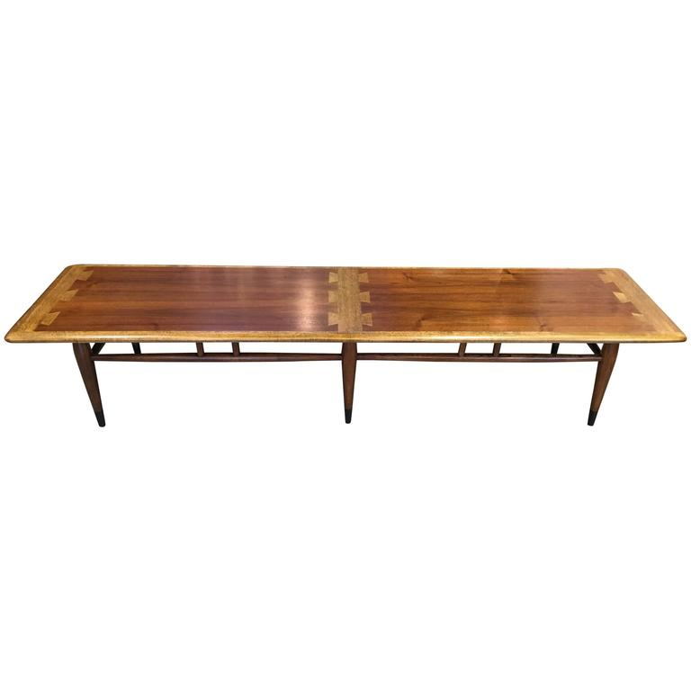 Extra Long Lane Dovetail Coffee Table 1
