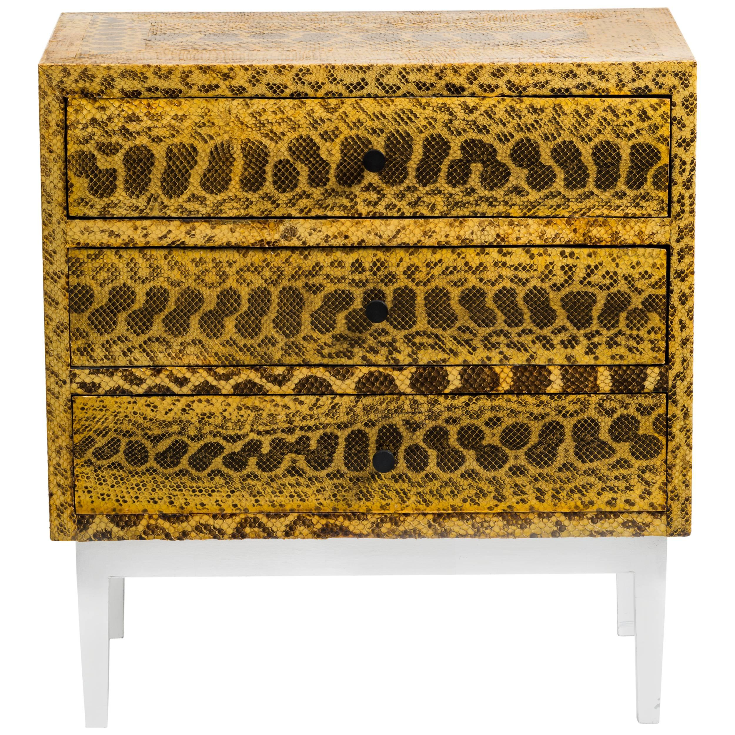 Snakeskin Chest of Drawers