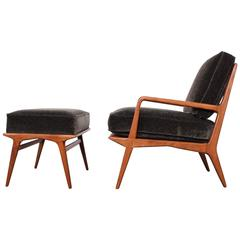 Lounge Chair and Ottoman by Carlo de Carli
