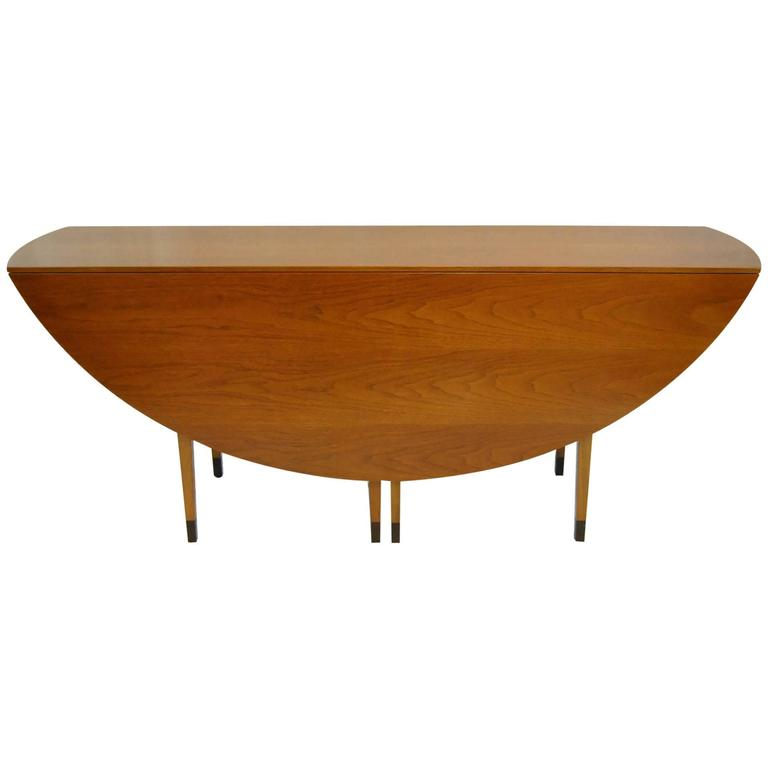 MidCentury Modern DropLeaf Gateleg Table Designed By Edward - Mid century modern gateleg table