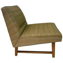 Mid-Century American Modern Single Dunbar Slipper Chair by Wormley
