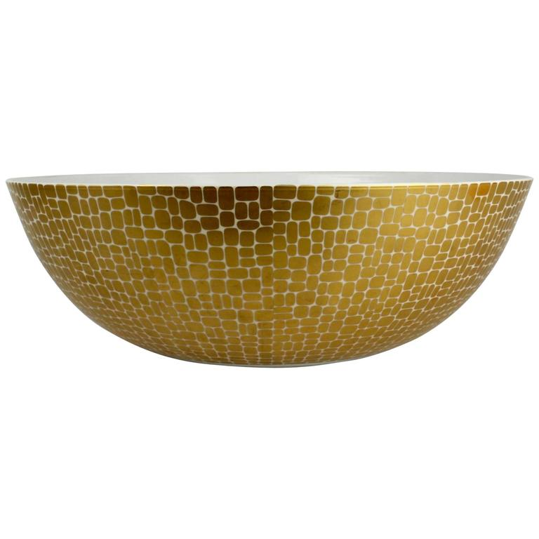 Large Metropol Punch Porcelain Bowl by Emilio Pucci for Rosenthal Studio Linie