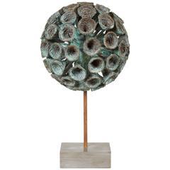 Bronze Plant Form Sculpture by Douglas Ihlenfeld, 2015