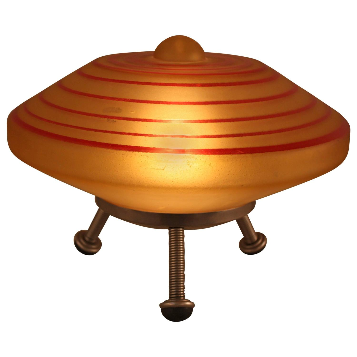 Ufo alliance spaceship table lamp at 1stdibs for F k a table lamp