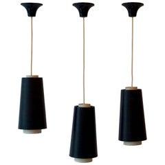 Set of Three Pendant Lights