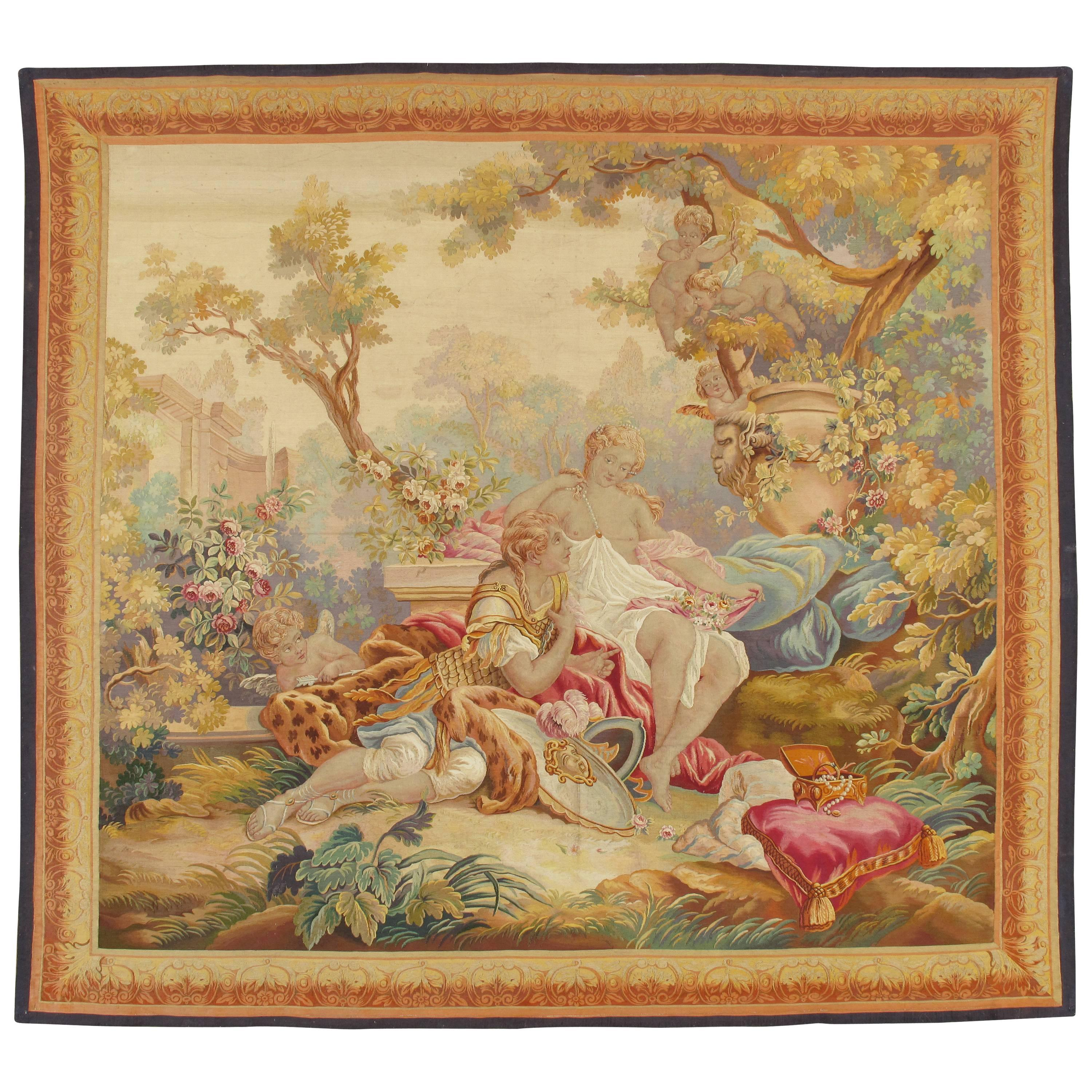 Late 18th Century French Beauvais Tapestry after François Boucher ...
