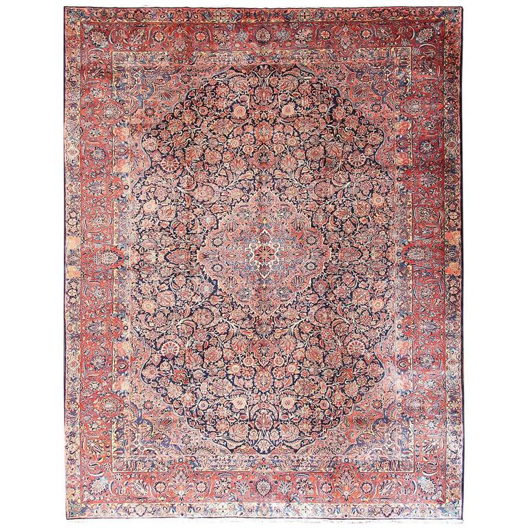 Fabulous Manchester Kashan For Sale At 1stdibs