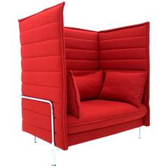 Ronan and Erwan Bouroullec Alcove High Back Loveseat, Lounge Chair, Vitra, 2006