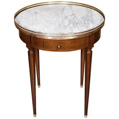 French Louis XVI Bouillotte Table