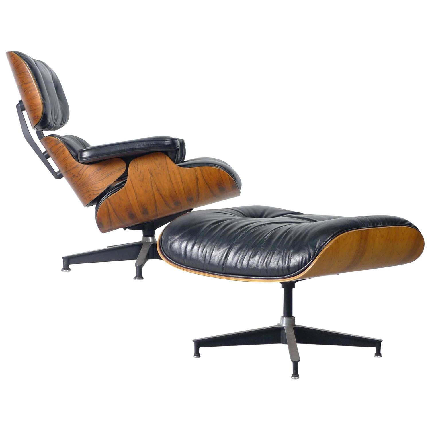 Eames Lounge Chair And Ottoman At 1stdibs