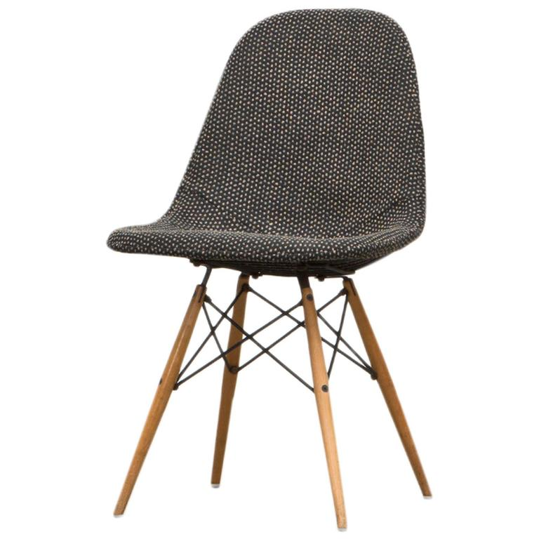 ray eames furniture. charles u0026 ray eames chair with alexander girard fabric 1 furniture