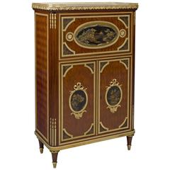 Louis XVI Style Petit Secretaire Cabinet, French, circa 1890