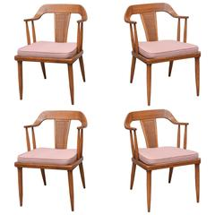 Tomlinson of High Point, Set of Four Dining Chairs, USA, 1957