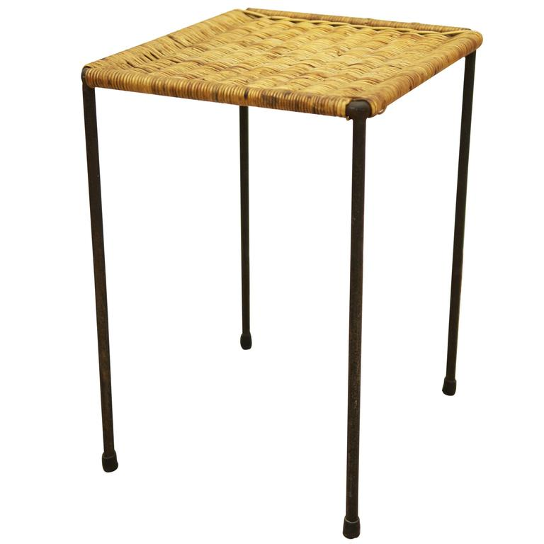 Side Table by Carl Auböck For Sale