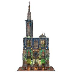"Outsider Art Work ""Strasbourg Cathedral"" by Thierry Mazille"