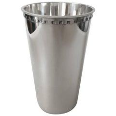 Georg Jensen Sigvard Bernadotte Sterling Silver Vase