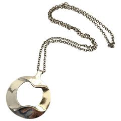 Georg Jensen, Henning Koppel Sterling Silver Pendant with Chain