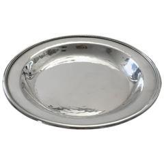 Georg Jensen Sterling Silver Plate