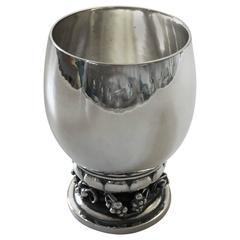 Georg Jensen Sterling Silver Cup