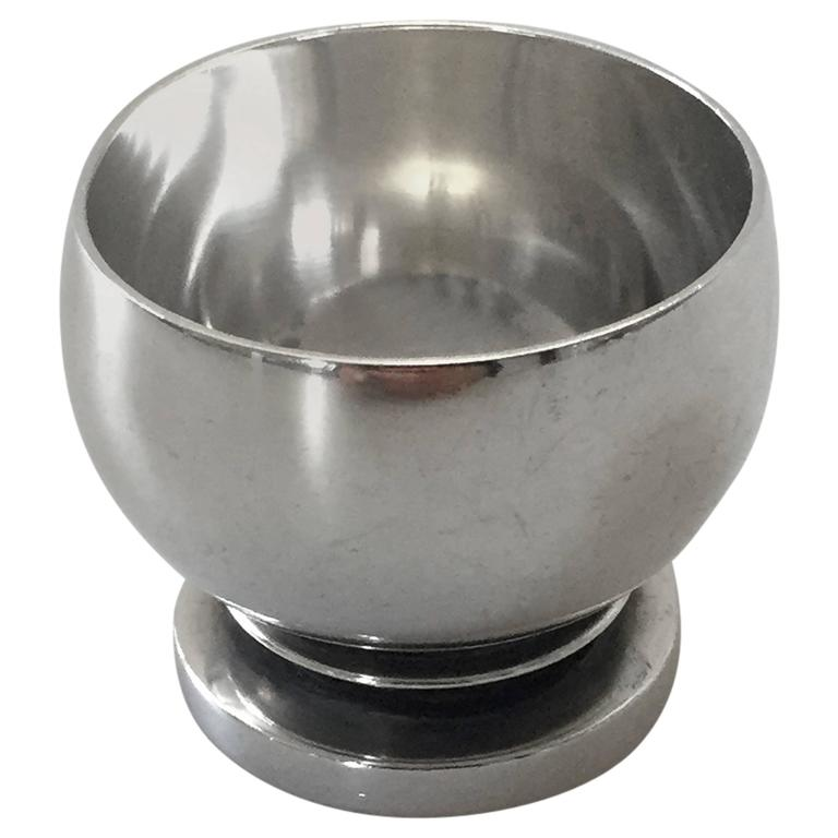Georg Jensen Sterling Silver Pyramide Egg Cup