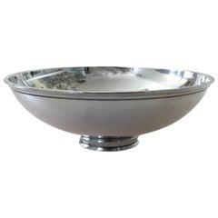 Georg Jensen Sterling Silver Sigvard Bernadotte Bowl #990B