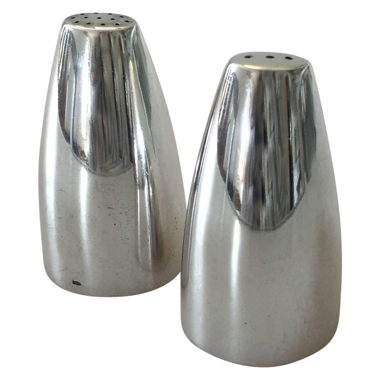 Georg Jensen Sterling Silver Henning Koppel Salt and Pepper Shaker