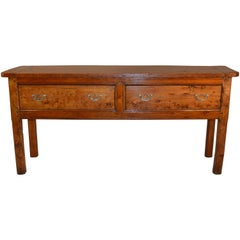 18th Century English Server Made from Elm