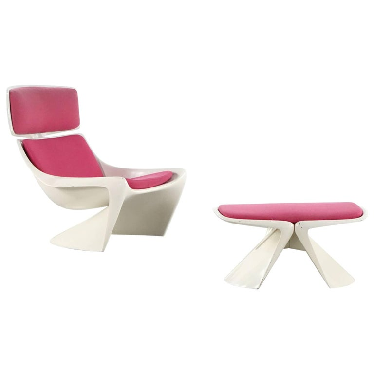 Steen Ostergaard Lounge Chair, Meteor for Cado For Sale