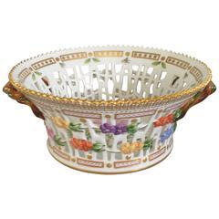Royal Copenhagen Flora Danica Fruit Basket
