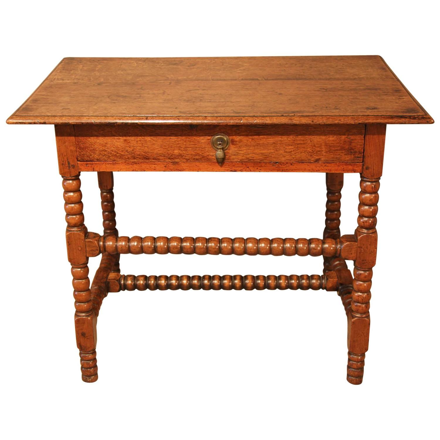 Charles II Side Table In Oak And Fruitwood At 1stdibs. Full resolution  photograph, nominally Width 1500 Height 1500 pixels, photograph with #B1491A.
