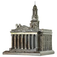 Royal Exchange Assurance, London, 1930s Souvenir Architectural Inkwell