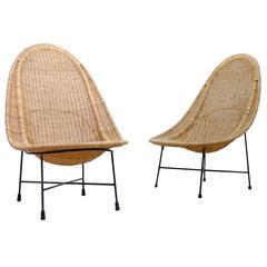 Kerstin Hörlin-Holmquist Easy Chairs Model Stora Kraal