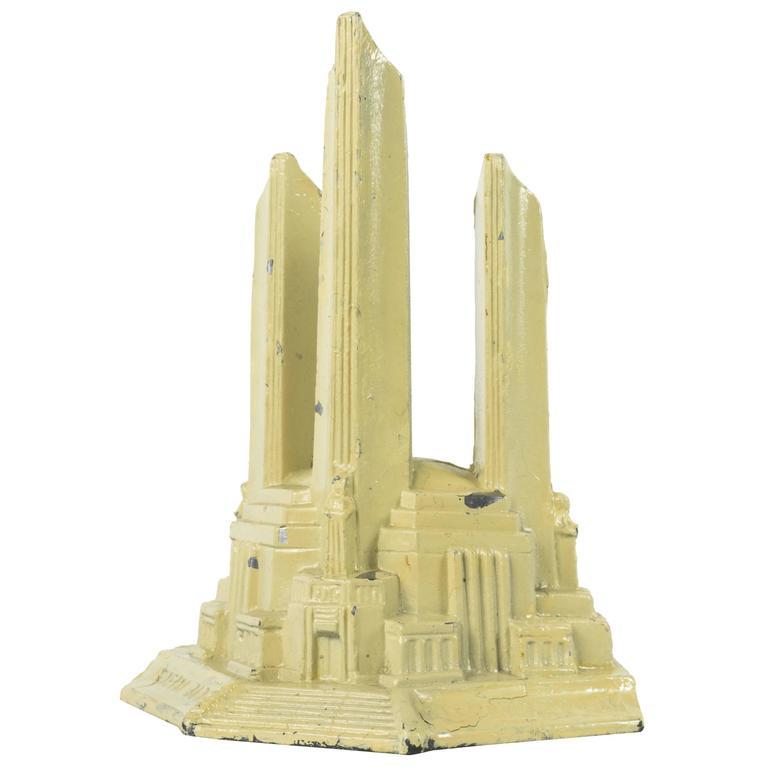 Federal Building model, 1933 Century of Progress Exhibition, Chicago