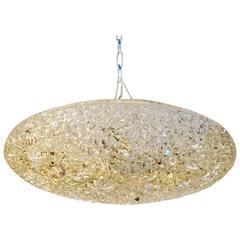 J.T: Kalmar Deckenlampe aus Texturiertem Glas