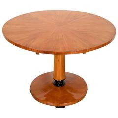 19th Century Biedermeier Tilt-Top Center Table