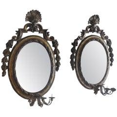 Pair of Antique Louis XIV Mirrors
