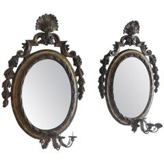 Pair of Antique Louis XIV Mirrors