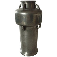 Mogens Ballin Tin Vase with Multiple Handles