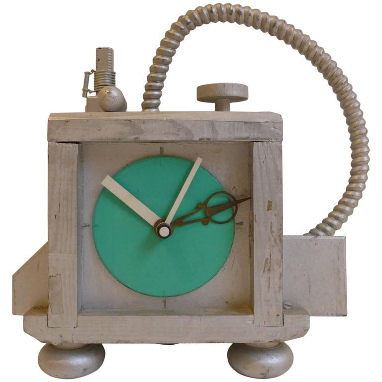 Fantasy Clock by Richard Birkett For Sale