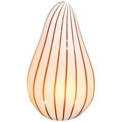 Table Lamp, Murano, Glass