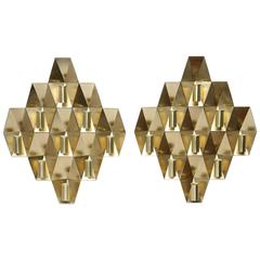Pair of Rare Wall Lamps by Hans-Agne Jakobsson