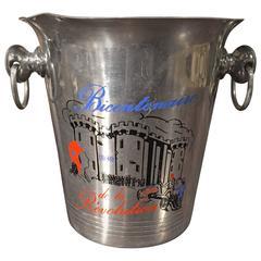 """Bicentenaire de la Revolution"" Vintage Champagne Bucket from France"