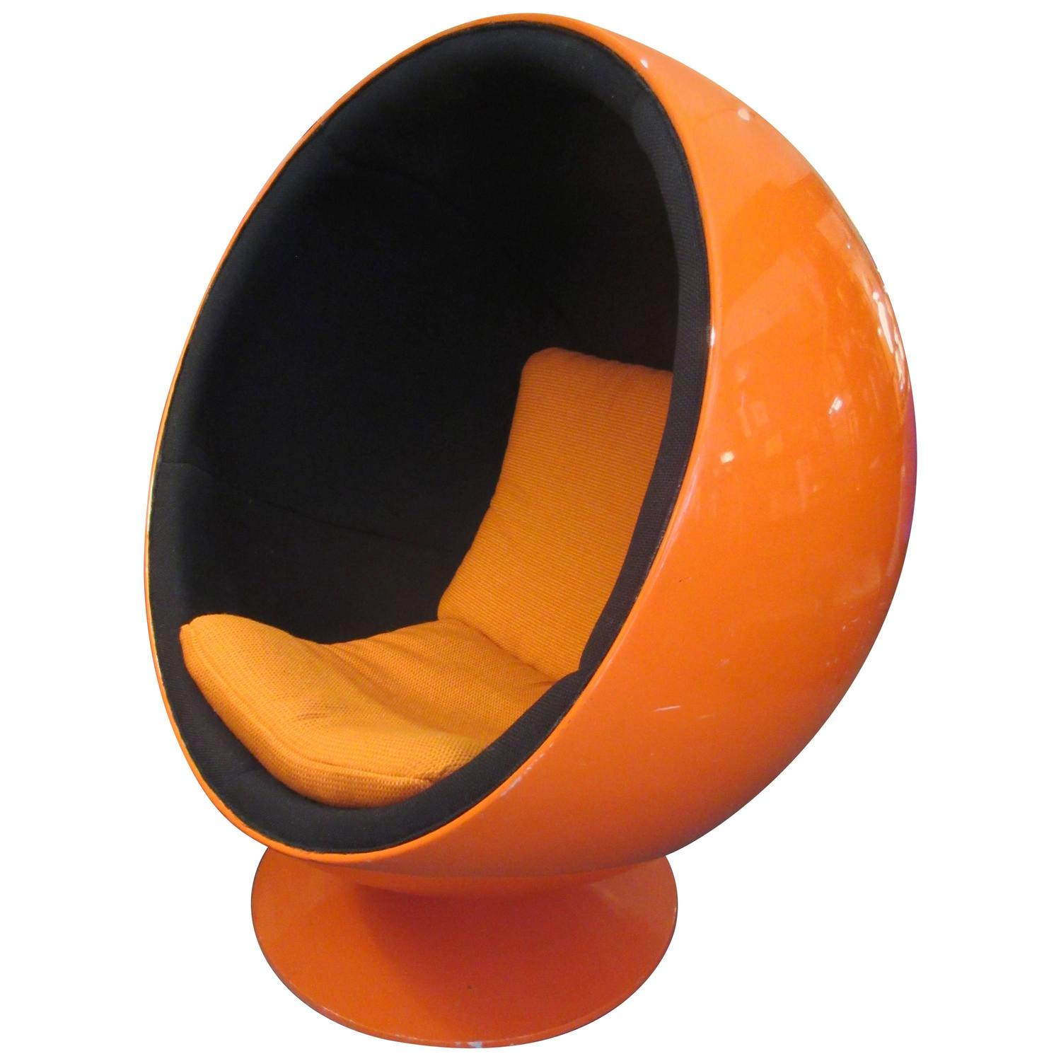 eero aarnio ball chair by asko lahti at 1stdibs. Black Bedroom Furniture Sets. Home Design Ideas