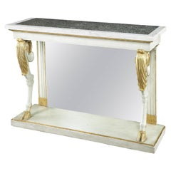 Fine Early 19th Century White Painted Console Table